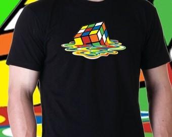 T-Shirt di Sheldon Cooper (The Big Bang Theory) CUBO RUBIK