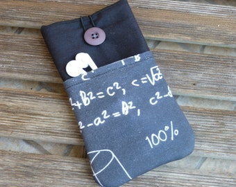 iPhone 7 for him,  iPhone 6s case, Black iPhone SE sleeve , iPhone 5 cover, iPhone 6s Plus case, iPod Touch 6g sleeve, Mathematic formula