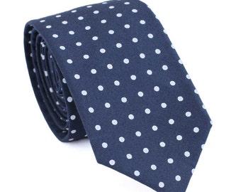 Navy Wedding Tie