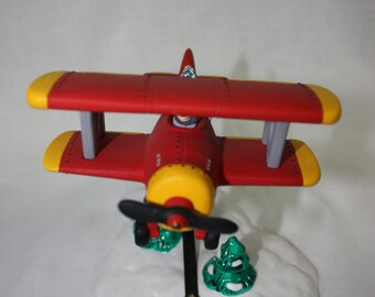 "Dept. 56 ""Spirt of the Snow Village""  airplane."