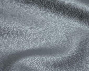Fabric PVC nappa grey bright leatherette 22.000 Martindale