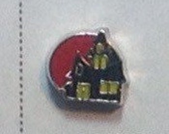 HALLOWEEN haunted house floating charm