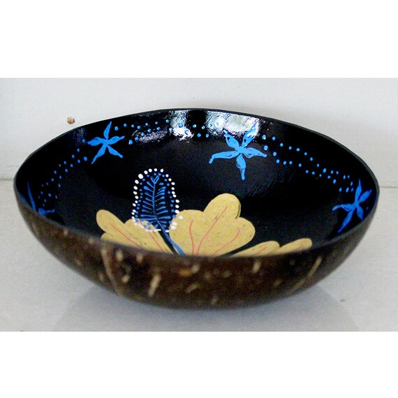 Classic Oriental Decorative Multipurpose Handmade Coconut Shell Bowl (PC 12)
