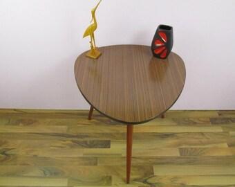 SALE kidney table, side table, coffee table | jacaranda optics | 50s | Germany