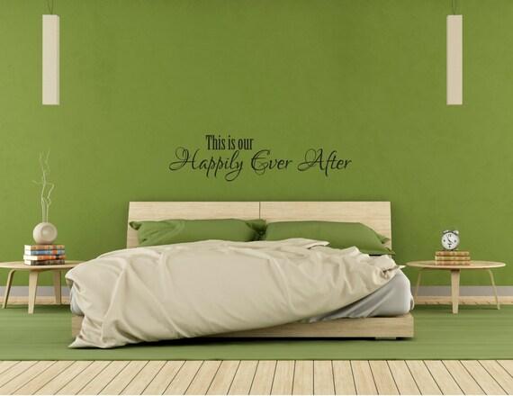 love wall decal bedroom wall decal master bedroom newlywed