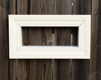 Picture Frame Shadow Box (6x18)