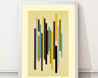 Printable Mid Century Modern art, Abstract art, Minimalist art, Printable art, Geometric art, Scandinavian art, Modernist art, Home Decor