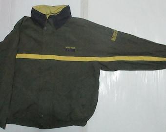 Vintage Nautica Men's windbreaker jacket full zipper size L