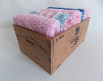 Wine crate etsy for Small wine crates