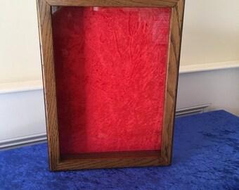 Framed Shadow Box; 12 x 16 inches