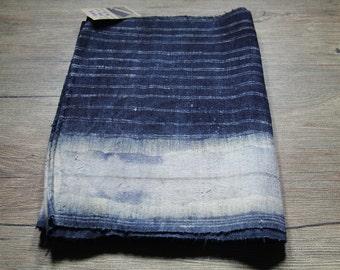 Vintage Hmong batik fabric from Hmong skirt #VB0008