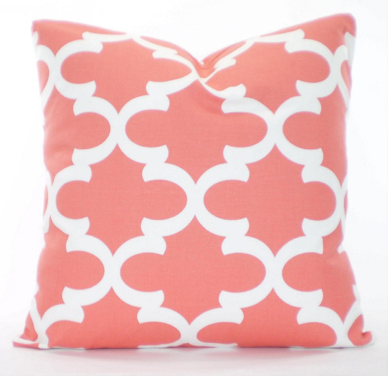 Decorative Pillows Etsy : Coral Throw Pillow Covers Cushion Cover by PillowCushionCovers