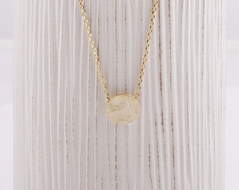 Circle / Round / Eternity / Necklace / Pendant / Silver / Gold / Hipster / Trendy / Everyday / Simple / Dainty / Minimalist / Petite