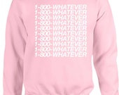 1800 Whatever Sweater Pink, Drizzy Parody Pink Sweater, October's Pink Hotline Shirts,Toll Free Ugly Christmas Sweater, Drake Bling Sweater