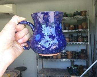 Handmade ceramic mug, 12 oz pottery mug