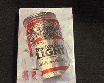 Budweiser LIGHT hallmark puzzle-HTF