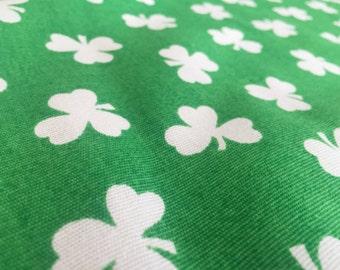 Vintage 70s fabric 50 x 120 cm: clover 2 W