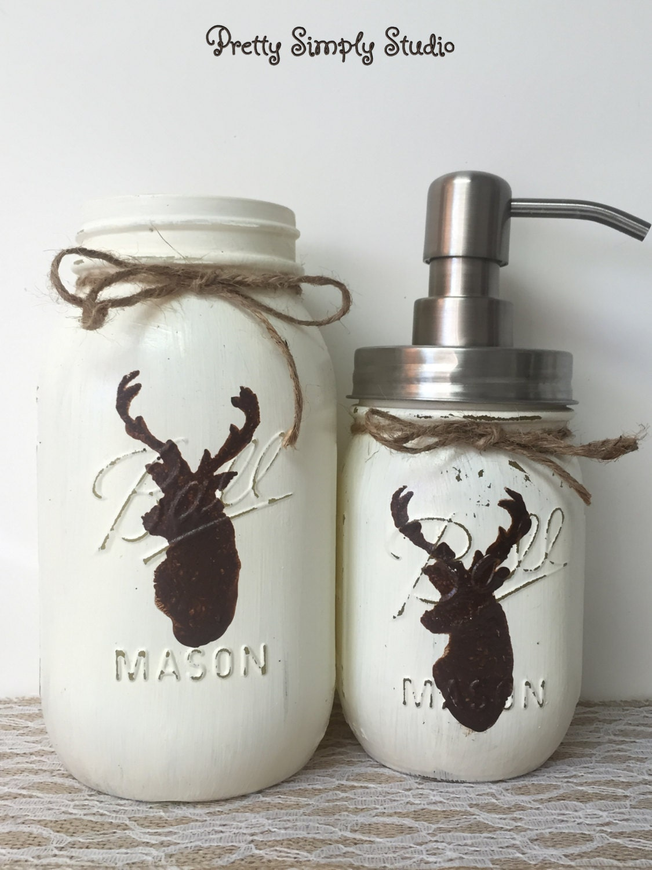 Deer decor for bathroom -  Zoom