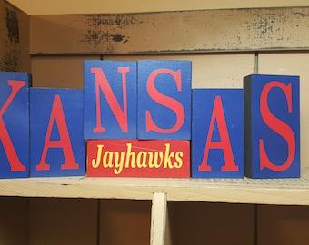 Kansas Jayhawks Blocks