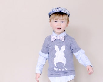 Kids Easter Bunny Shirt - Bunny Shirt - Kids Easter Shirt - Kids Easter Outfit - Baby Easter Outfit - Easter Bunny Tshirt -  Easter Bunny