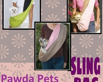 Dog sling bag, carrier sling, pet carry sling bag