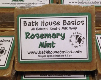 Rosemary Mint Goat's Milk Soap
