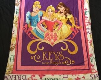 Key to the princess kingdom blanket