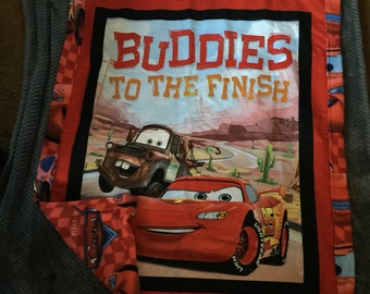Friends till the end blanket