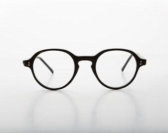Round Clear Lens Atticus Finch Pantos Vintage Glasses RX Optical Quality Frames -Atticus