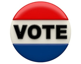 Vote Chocolate Covered Cookies, Election Day Chocolate Covered Oreos, Get Out and Vote Cookies