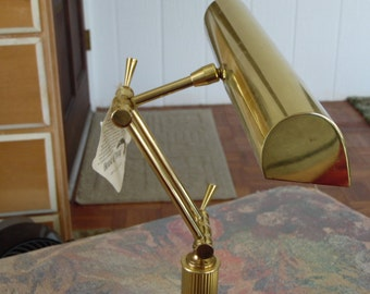 Antique House of Troy Desk Piano Lamp
