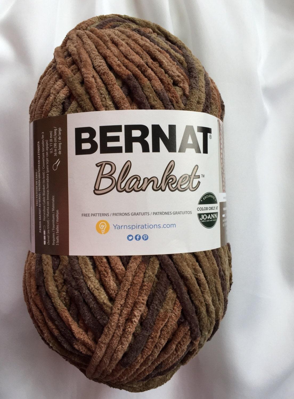 Woodsy 10790 Bernat Blanket Yarn Big 10 5 Oz Skein Bernat