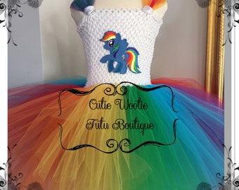 My Little Pony (MLP) Rainbow Dash inspired
