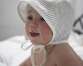 Sun Bonnet - Bonnet - Baby Bonnet - Linen Bonnet - Sun Baby Bonnet - Baby hat - Sun Hat - Baby Sun Hat