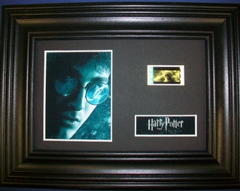 HARRY POTTER Half Blood Prince Framed Movie Film Cell - Genuine Collectible Gift compliments dvd poster book
