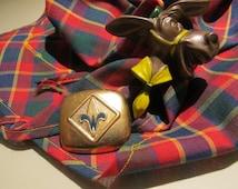 Boy Scout Hankercheif slides set of 5- Liberty Bell, Hatchet, Donkey, Ball, Weblo Signa