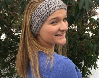 Women's Crochet Ear Warmer Headband