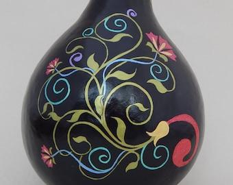 Gourd art, gourds, art nouveau, painted gourds, decorative gourds, beautiful gourd art, gourd, hand painted gourds, unique gourd art