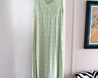 Vintage 90s Grunge Maxi dress