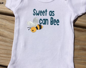Sweet As Can Bee Onesie