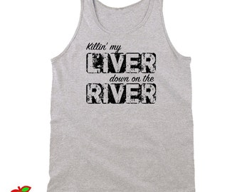 Killin My Liver Down On The River (Tanktops)