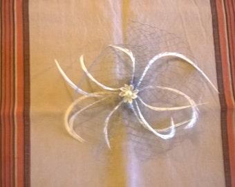 kanzashi flower hairclip