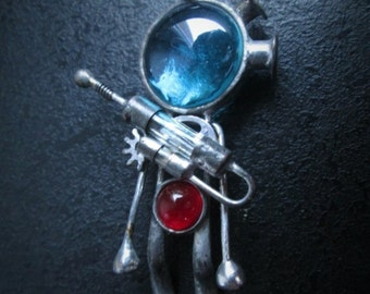 """Pendant of our workshop """"Space Craft""""."""