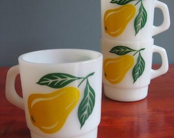 Vintage Trio Of Termocrisa Mugs