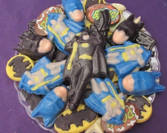 Batman chocolates candy tray