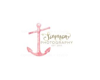 Affordable Custom Logo - Branding - Marketing - business logo - anchor logo design - wedding monogram - photography logo - BL149B