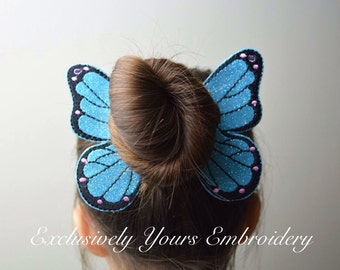 Butterfly Bun Pal Hair Accessory - Hair Pin - Bobby Pin - Hair Decoration - Sports - Clip - Hair Clip - Seasonal - Barrette