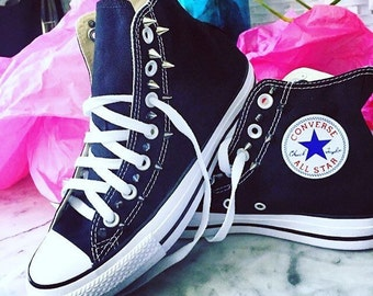 Spiked Converse Shoes
