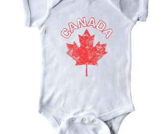 Canada Maple Leaf Infant Creeper by Inktastic