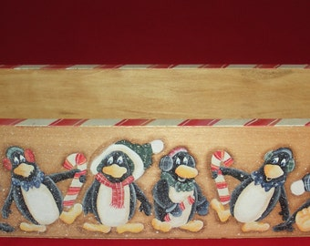 Penguins and Candy Canes